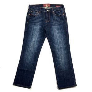 Lucky Brand Dark Wash Denim Sweet N Crop Jean